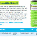 Vari Massage Roller promotion