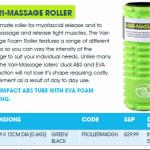 Vari Massage Roller promotion