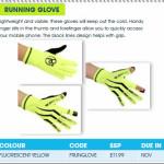 Running Glove promotion