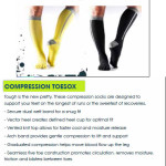 Compression Toesox promotion