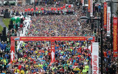 Cardiff Half Marathon Successes