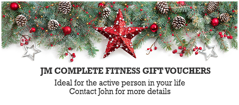 JM Complete Fitness Gift Vouchers